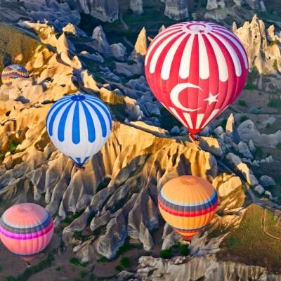 Deluxe Balloon Tour in Cappadocia ( 1,5 hours )