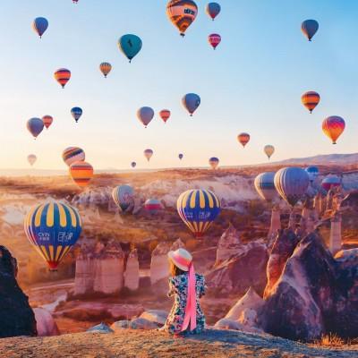 Standard Balloon Tour in Cappadocia 1 Hour