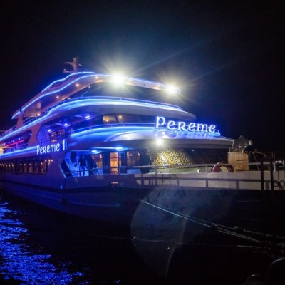 Bosphorus Cruise with Dinner and Entertainment ( Unlimited Soft & Alcoholic Beverages)